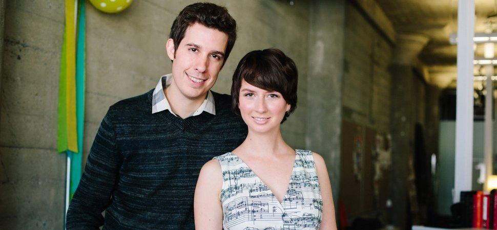 Susan Gregg Koger and Eric Koger