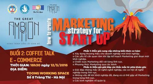 Dự án Marketing khởi nghiệp hứa hẹn thu hút nhiều bạn trẻ
