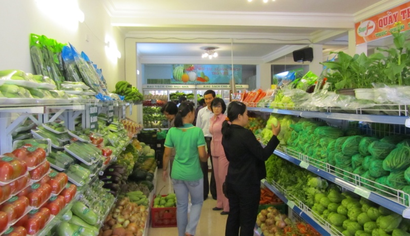 Người dân tin dùng thực phẩm sạch