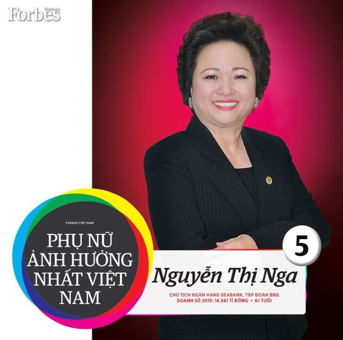 Nguyễn Thị Nga trên Forbes