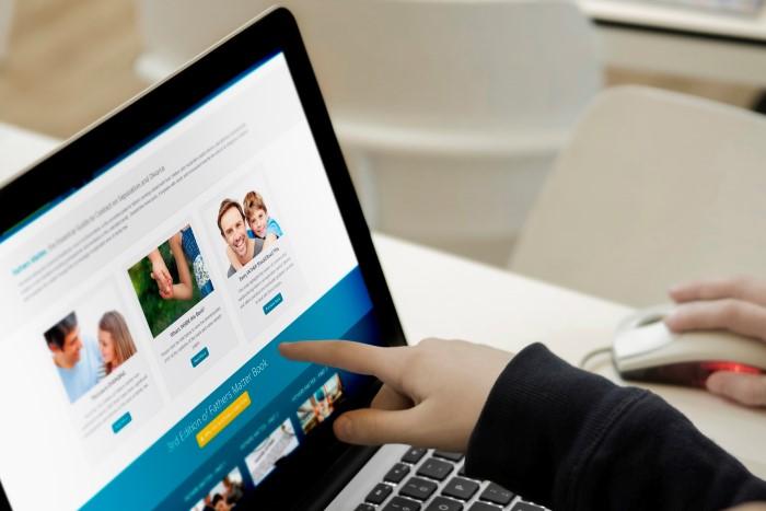 Khách hàng quyết định ở lại lâu hơn với những website đáng tin cậy