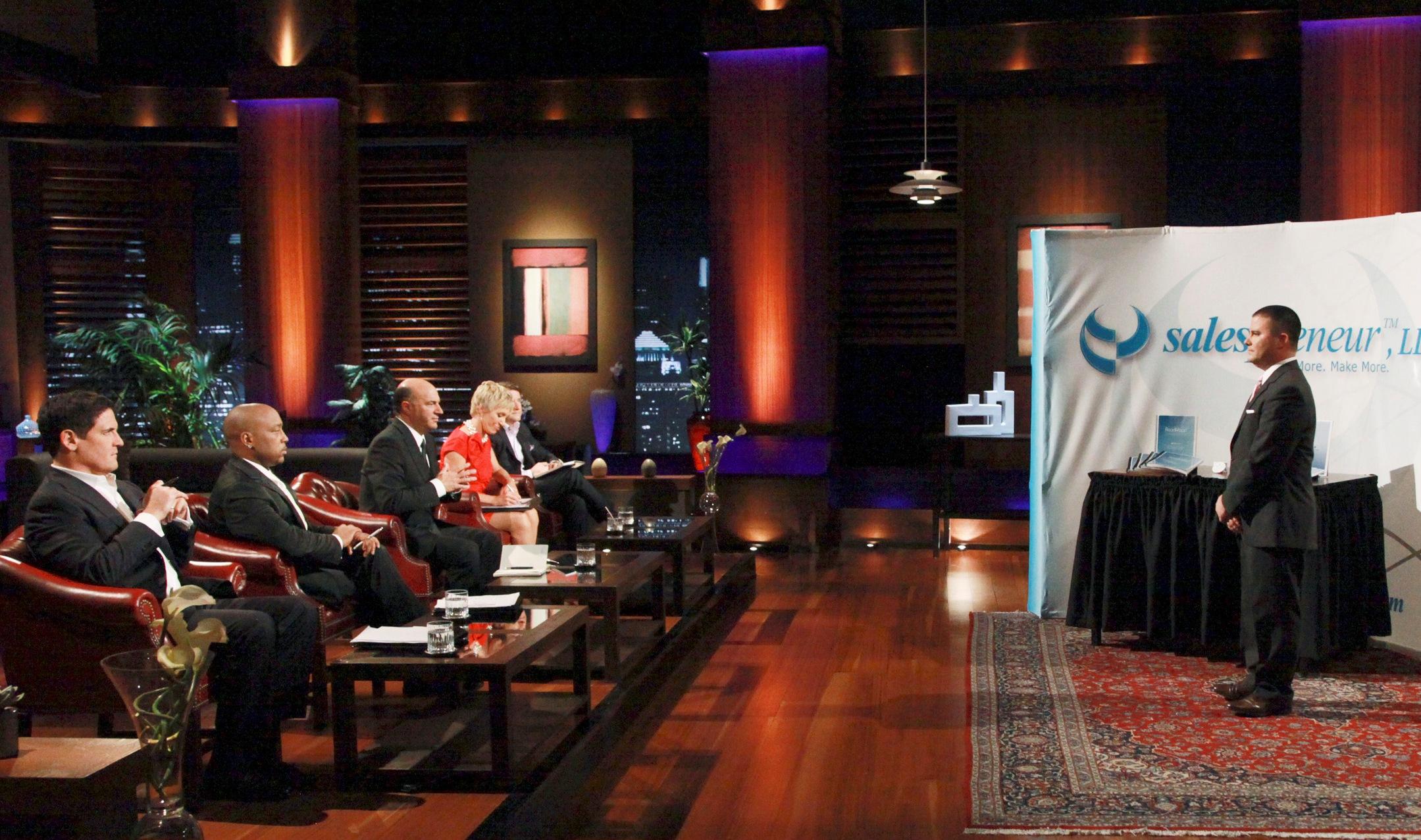 Shark Tank - chương trình truyền hình thực tế của Mĩ