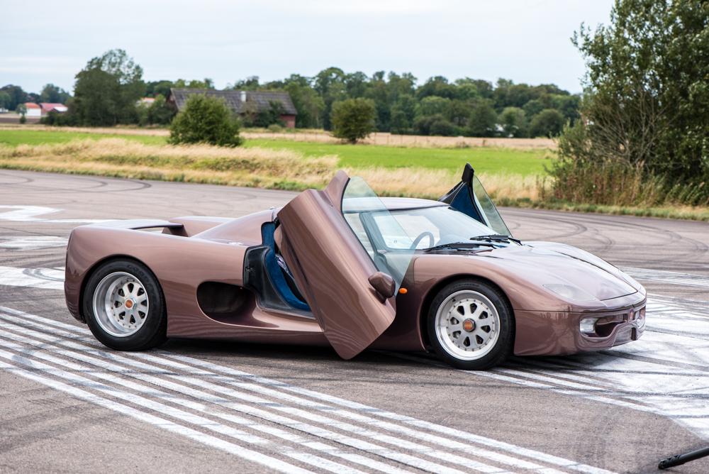 Chiếc xe nguyên mẫu đầu tiên của Koenigsegg