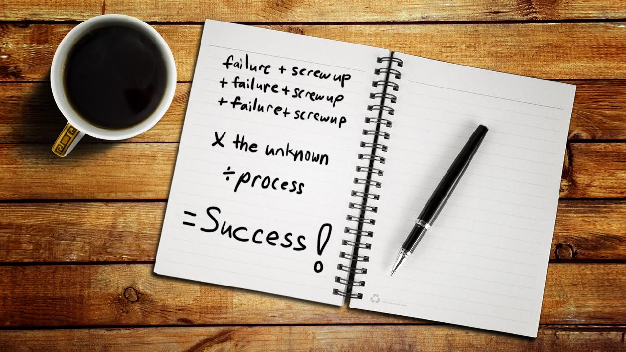 Sau thất bại bạn sẽ có kinh nghiệm để thành công hơn