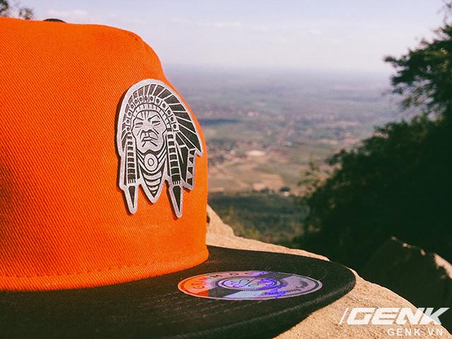 Ý tưởng chiếc nón thay được logo của Duy