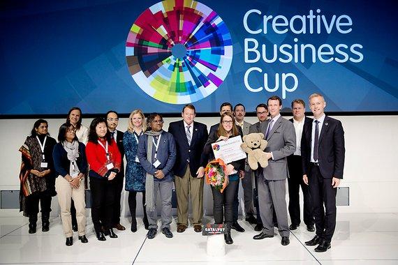Hình ảnh cuộc thi Creative Business Cup