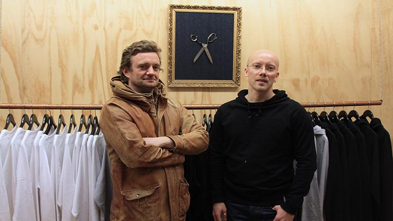Anders Bengs (trái) và Jukka Pesola