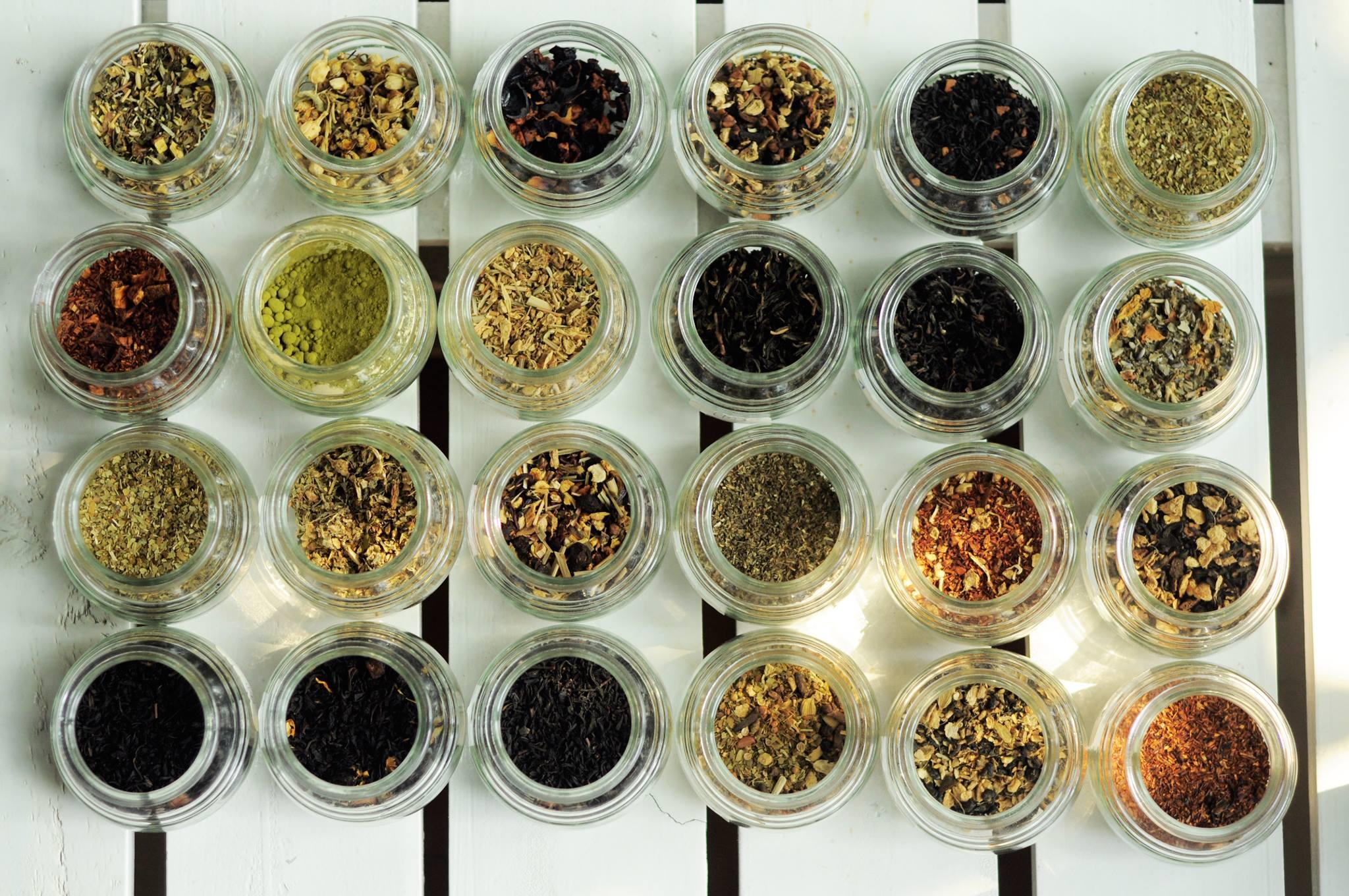 Nguyên liệu trà đạo rất phong phú, có tác dụng tốt cho sức khỏe