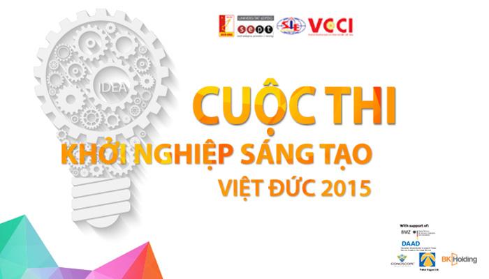 Cuộc thi Khởi nghiệp sáng tạo Việt - Đức năm 2015