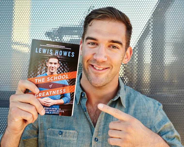 """Lewis Howes, tác giả """"The School of Greatness"""""""