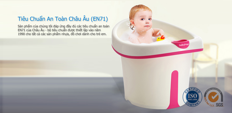 Sản phẩm bồn tắm cao của Babyhop