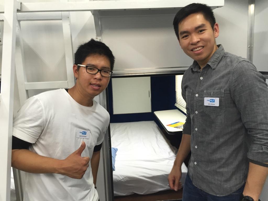 Kevin Phạm và em trai Ken Phạm