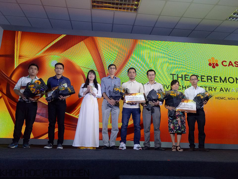 Các nhóm khởi nghiệp được CASE trao tài trợ