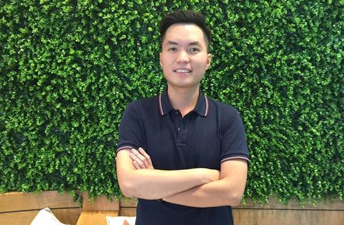 Chàng trai trẻ Hoàng Anh Tuấn