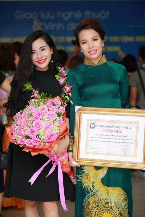 Nữ doanh nhân với nhiều giải thưởng có giá trị