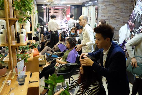 Salon tóc của Tuấn Nguyễn