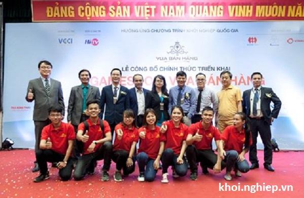 Ra mat Gameshow khoi nghiep Vua ban hang 2