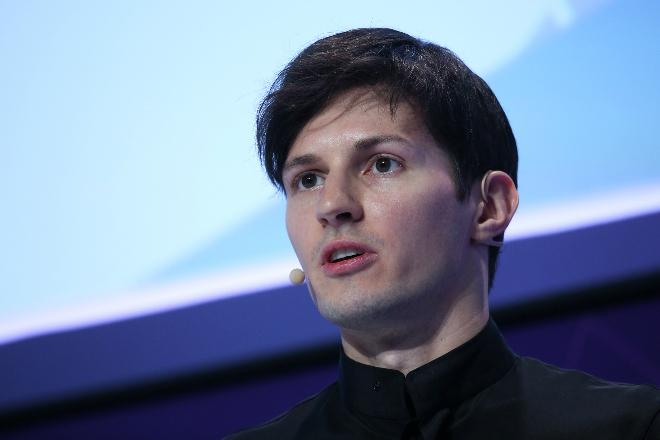 Pavel Durov - nhà sáng lập và CEO ứng dụng nhắn tinTelegram. Ảnh: Bloomberg.