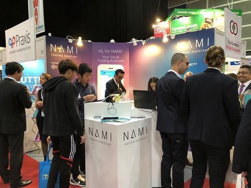 Nami tham gia diễn đàn tài chính thường niên iFX Expo Asia 2018 diễn ra vào 23/1 tại Hong Kong (Trung Quốc).