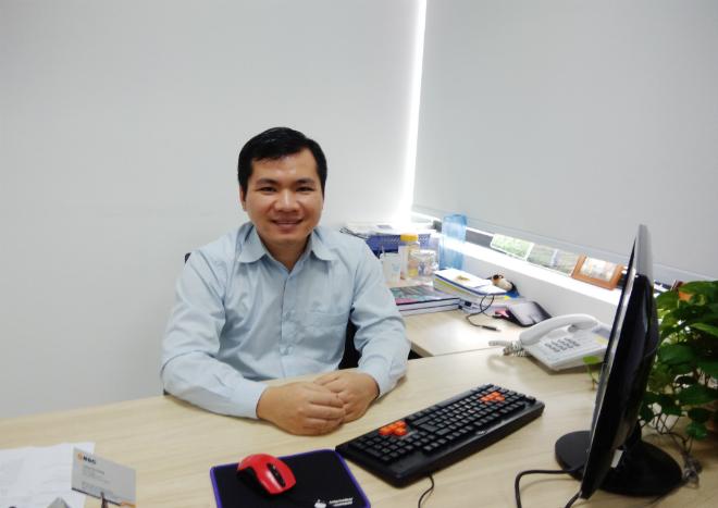 Bùi Quang Hiếu - CEO Học Với Chuyên Gia. Ảnh: Nhân vật cung cấp.