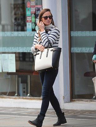 em gái Công nương Anh Pippa Middleton đã mang giày do chính ông thiết kế