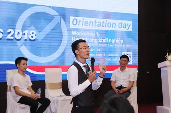 Với Phạm Anh Cường, ươm mầm startup là sứ mệnh của mình.