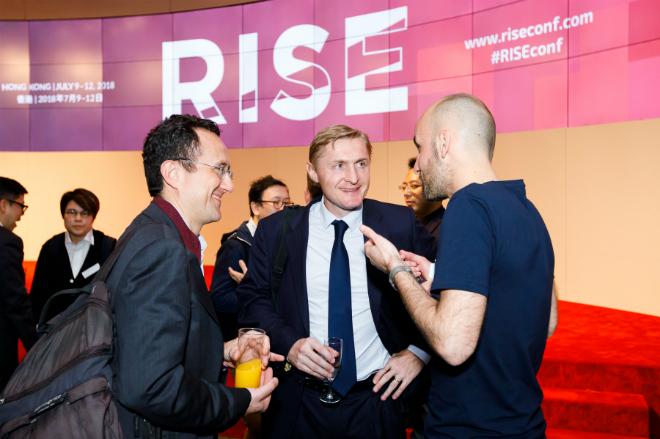Sự kiện RISE 2018 tại Hong Kong quy tụ các diễn giả, tập đoàn công nghệ,nhà đầu tư toàn cầu.