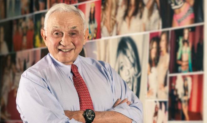 Les Wexner - người đàn ông đứng sau thương hiệu Victorias Secret. Ảnh: Forbes.