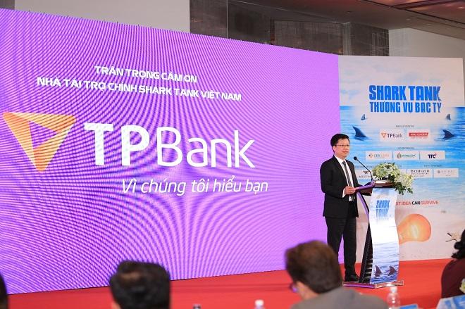 ÔngNguyễn Hưng Tổng Giám đốc Ngân hàng Thương mại Cổ phần Tiên Phong (TPBank),đại diện Nhà tài trợ chính của Shark Tank mùa hai khẳng định sẽ tiếp tục hỗ trợ các startup ngay cả khi chương trình kết thúc.