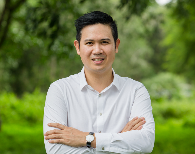 Chủ tịch Asanzo Phạm Văn Tam sẽ chia sẻ với sinh viên những kinh nghiệm khởi nghiệp ở độ tuổi 20.