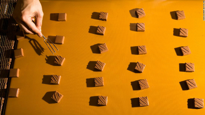 Thành phẩm chocolate của Torres. Ảnh: CNN.