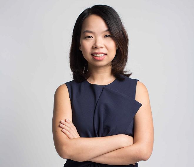 Bà Ngô Thùy Ngọc Tú - Đồng sáng lập kiêm Giám đốc chiến lược và sản phẩm của Yola.