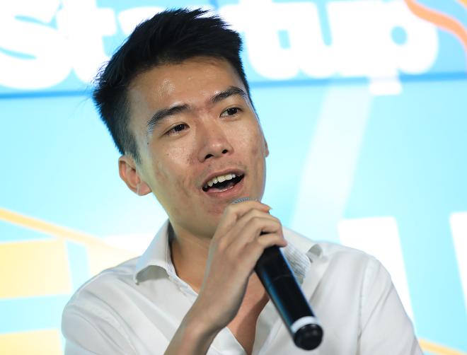 Ông Giáp Văn Đại - CEO Nami kể câu chuyện gọi vốn triệu USD chỉ trong thời gian ngắn do hiểu đúng gu của nhà đầu tư. Ành: Hữu Khoa.