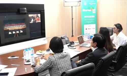 Nhiều ý tưởng đột phá trong vòng thuyết trình Startup Việt 2018