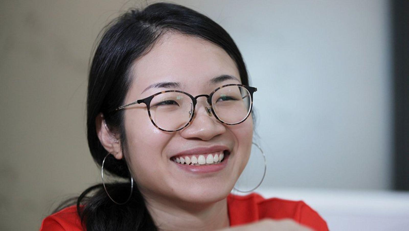 Phạm Khánh Linh - người sáng lập kiêm giám đốc điều hành Logivan