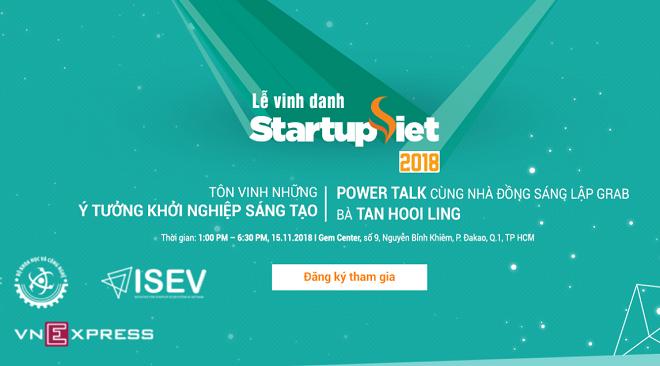Gala vinh danh Startup Việt 2018 là sự kiện quy mô lớn nhất trong hành trình cuộc thi trong ba mùa qua.