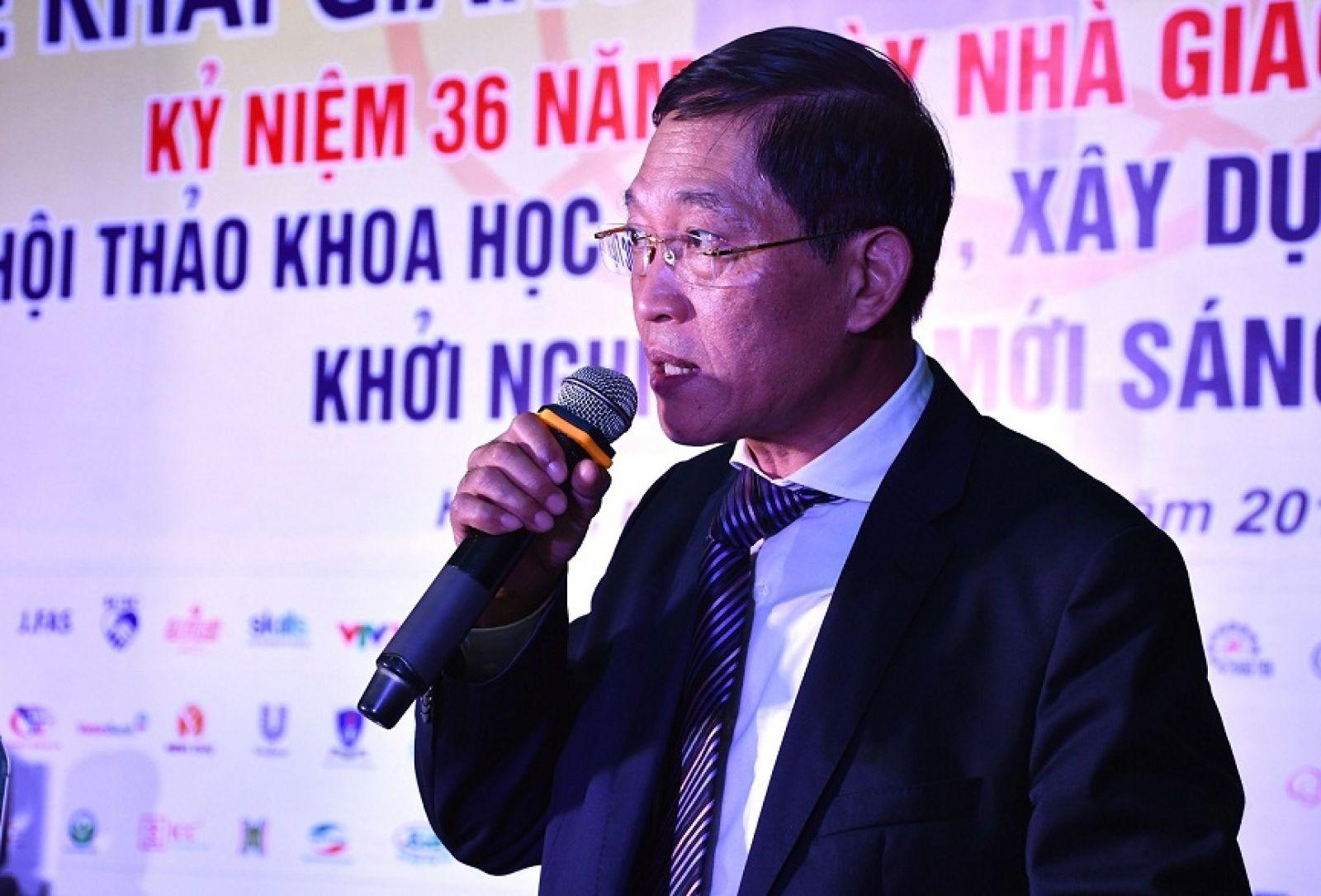 Ông Trần Văn Tùng - Thứ trưởng Bộ KH&CN