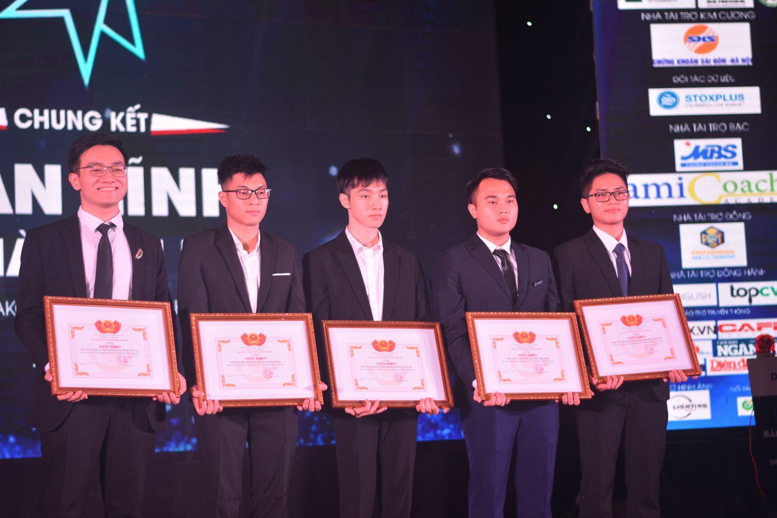 Top 5 xuất sắc của cuộc thi Bản lĩnh Nhà đầu tư 2018