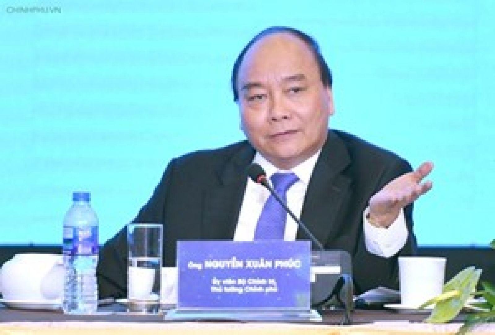 Thủ tướng tọa đàm với đại diện các doanh nghiệp Việt Nam