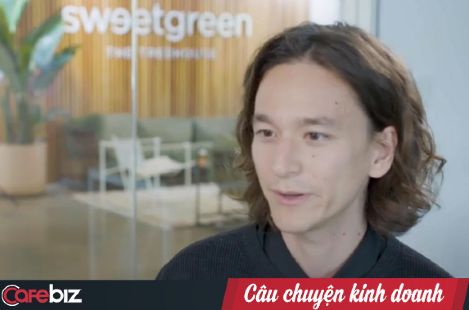 Nathaniel Ru - Giám đốc thương hiệu của Sweetgarden.