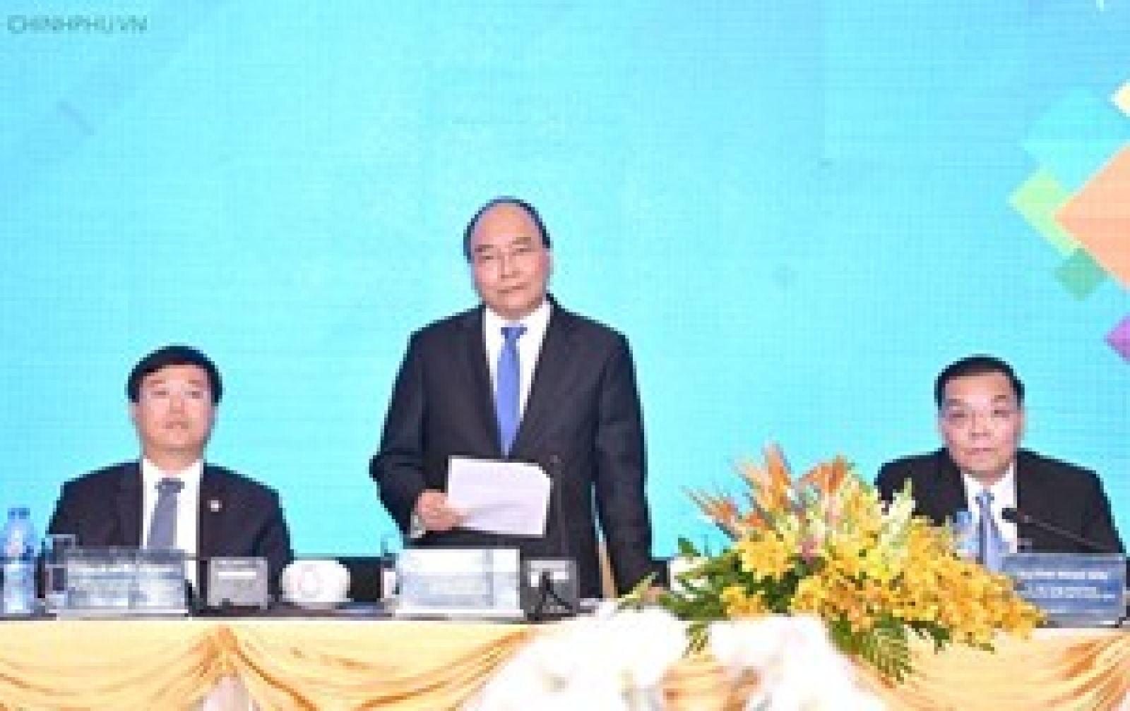 Thủ tướng phát biểu kết luận diễn đàn.