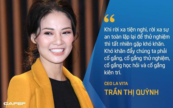 """Hoa hậu Trần Thị Quỳnh: """"Giai đoạn đầu khởi nghiệp đầy chông gai và cô đơn, cũng như cá học leo cây vậy nhưng tôi quan niệm rất ít bí quyết chung để thành công ngoài sự kiên trì"""""""