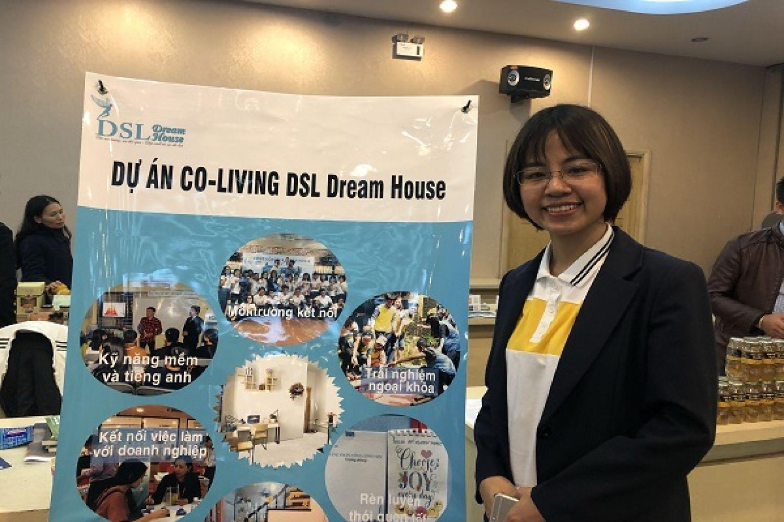 Chị Phan Thị Huế, founder dự án Co-Living DSL Dream House