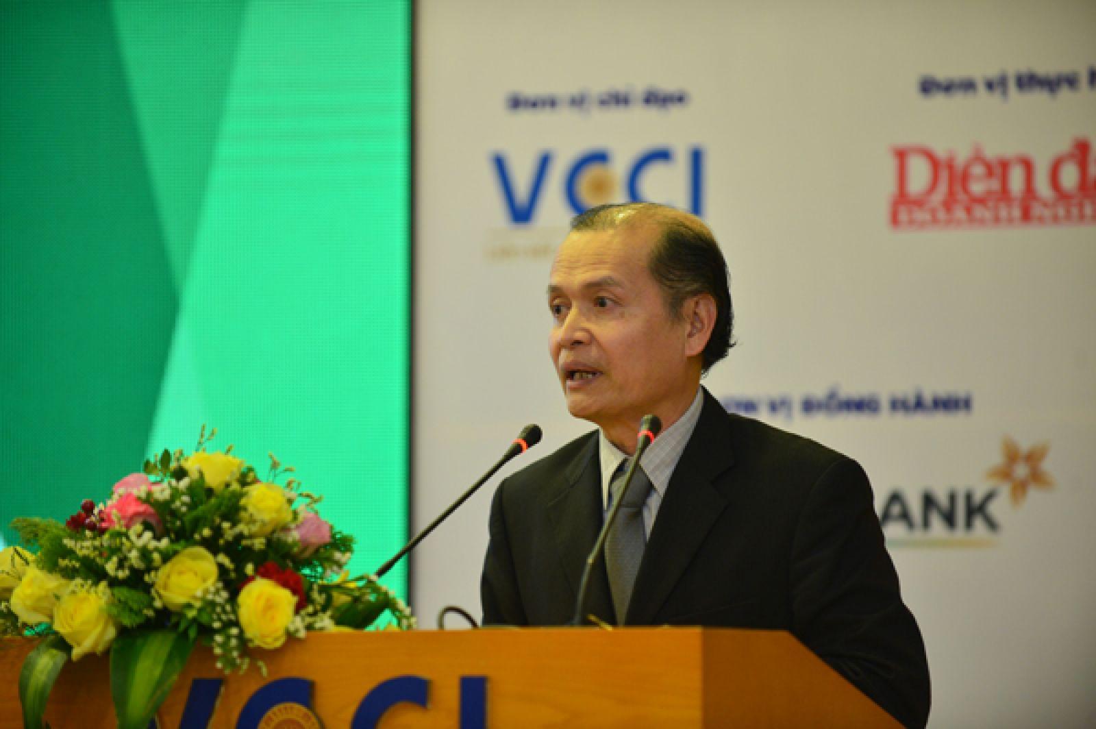 Nhà báo Phạm Ngọc Tuấn – Tổng biên tập Báo Diễn đàn Doanh nghiệp, Phó Trưởng ban thường trực Tổ chức chương trình Khởi nghiệp Quốc gia