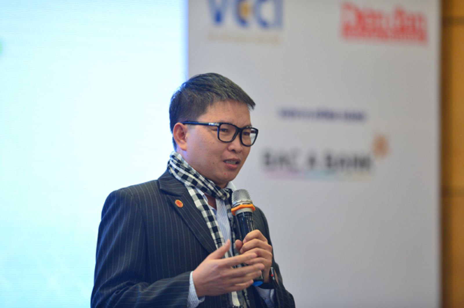 Ông Nguyễn Tiến Trung -Giám đốc CTCP Đầu tư và Tư vấn Khởi nghiệp (NSCI), Trưởng làng Cộng đồng Techfest, Cố vấn Chương trình Khởi nghiệp Quốc gia
