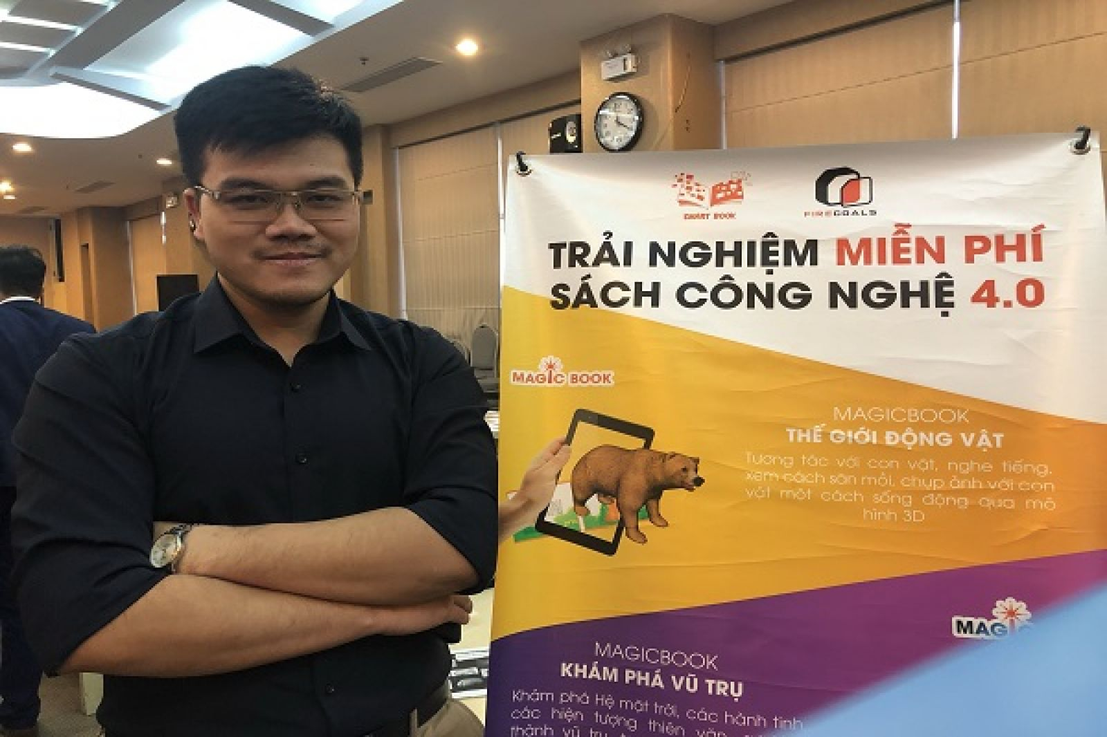 Anh Nguyễn Đình Thảo, CEO và Founder công ty FireCoals, dự án MagicBook