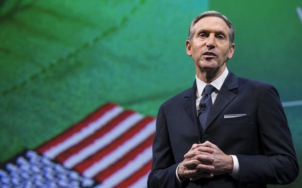 """Howard Schultz - Huyền thoại của Starbucks và lời hứa hẹn trở thành một """"Tổng thống CEO"""""""