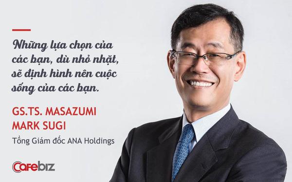 Sếp DN sở hữu hãng hàng không số 1 Nhật Bản nhắn nhủ giới trẻ Việt: Nên lập kế hoạch 10 năm cuộc đời, và đừng quên TIỀN là điều quan trọng số 1!
