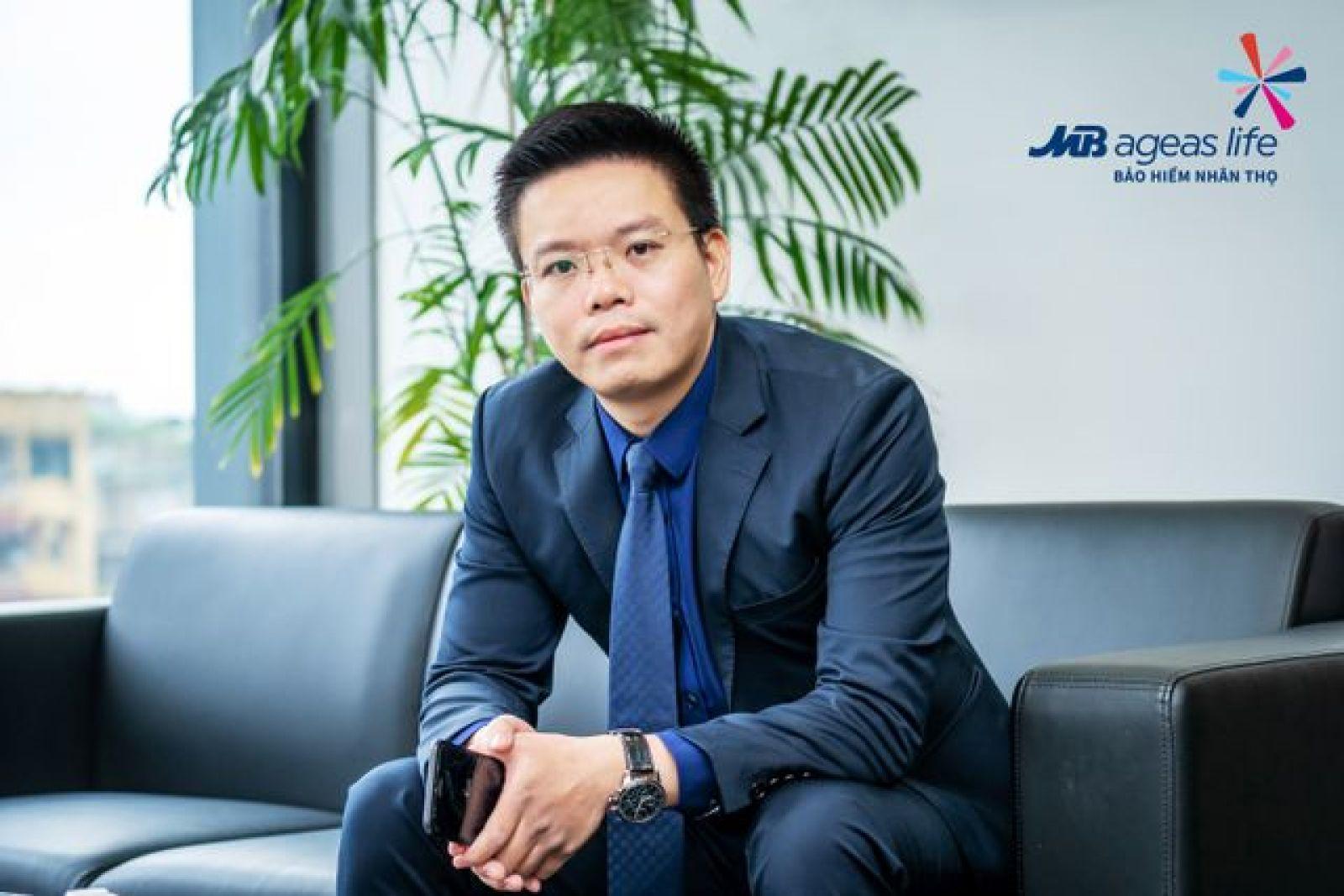 Ông Vũ Hồng Phú - Chủ tịch UBĐH MB Ageas Life