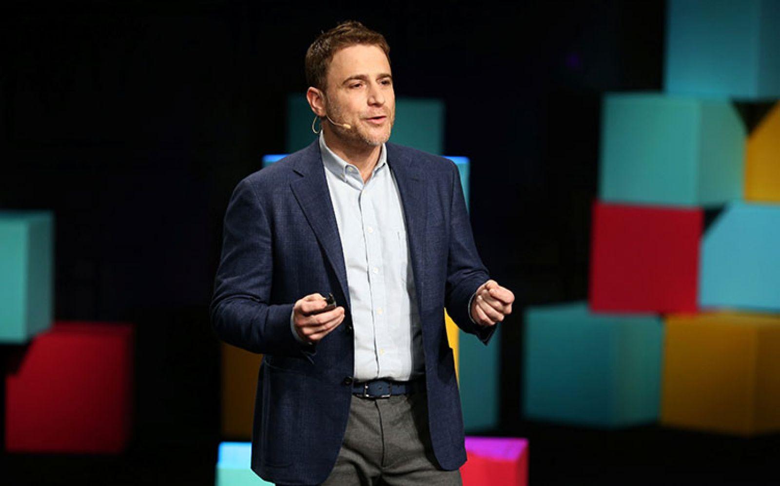 Stewart Butterfield - CEO Hãng cung cấp dịch vụ chat Slack. Nguồn: Reuters